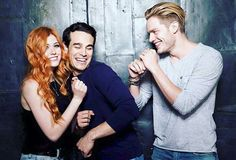 Kat, Alberto and Dom