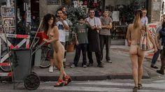 ¿Se puede pasear desnudo por las calles de la Ciudad?