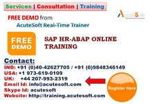 SAP ABAP-HR, SAP ABAP HR Component is to be able to process employee related data according to business requirements in an effective structure. The Human Resources module uses a system of data grouped together called info types.