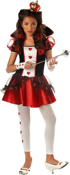 Queen Of Hearts Teen Costume  Product #: WC104036