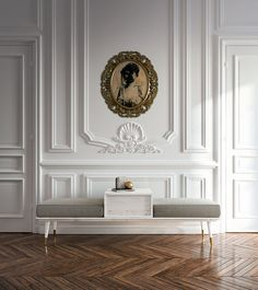 Milan 2019 | Callesella Un appartamento elegante, un design sofisticato ma semplice per la panca da ingresso o living. An elegant #flat, a sophisticated but simple #design for the #bench