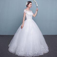 임신 여성을위한 2017 새로운 여름 웨딩 드레스 신부 공주 워드 어깨 제나라 대형 얇은 긴 꼬리 웨딩 드레스