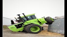 Heavy Machinery - Inexperienced Drivers of Tractors for Idiots at the Wh...