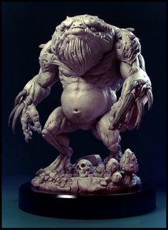The Slaad by Sam King | Creatures | 3D | CGSociety