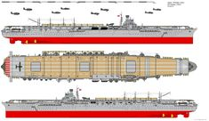 Shokaku-class Aircraft Carrier (1944) by ijnfleetadmiral.deviantart.com on @deviantART