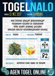 Keluaran 6D Togel Wap Online TogelNalo Bandung 13 Mei 2017