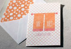 great wedding card roundup from paper crave