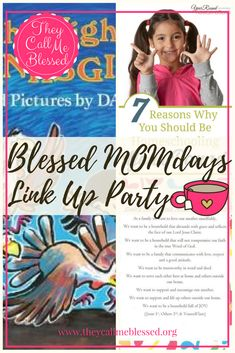 Blessed MOMdays Link Up Party #4