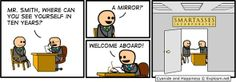 Applying For an IT Job - Comic - Cyanide and Happiness Memes Humor, Funny Jokes, It's Funny, Gym Memes, Gaming Memes, Funny Cartoons, Cyanide And Happiness Comics, Welcome Aboard, Hilarious Pictures