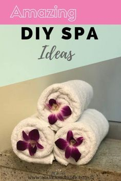 how to pamper yourself with DIY home spa ideas. Relax and take time for self-care. oil scrub # diy spa facial at home DIY Home spa Ideas to pamper yourself. Diy Spa Tag, Spa Weekend, Girls Weekend, Home Spa Treatments, Spa Night, Spa Birthday, Spa Day At Home, Spa Party, Pamper Party