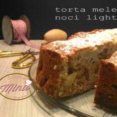 Torta mele e noci light