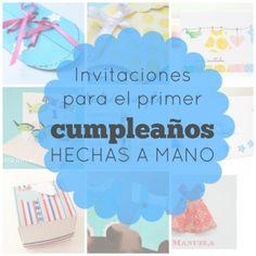 8 Invitaciones para primer cumpleaños hechas a mano | Blog de BabyCenter