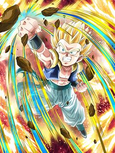 """[True Child Prodigy] Super Saiyan Gotenks """"You know, this just might kill you...eh, whatever!"""""""