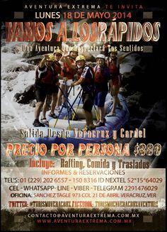Vamos a los #rápidos este 18 de #mayo http://www.turismoenveracruz.mx/2014/03/vamos-a-los-rapidos-de-jalcomulco-este-18-de-mayo-2014/ #Jalcomulco #Veracruz