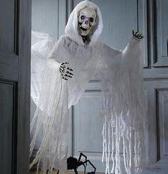 DIY spooky skeleton skull halloween