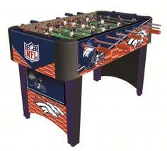 Imperial International 87-1003 Denver Broncos Foosball Table #denverbroncos #broncos #mancave #gifts