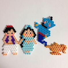 Aladdin - perler beads