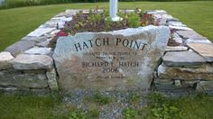 Hatch Point, Phippsburg, Maine Saw this on the way in to Popham and stopped on the way out. A nice little place to picnic.