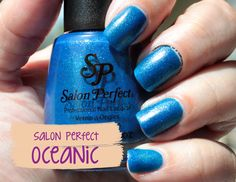 Salon Perfect Oceanic swatches+review ~ CoaSMom