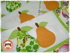 Blog OFICIAL Menina Nunalu: Frutas na cozinha! peras