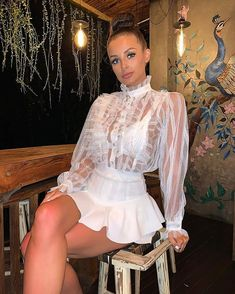 Choose from a huge range of wholesale women's clothing, where you'll find all the latest trends and celebrity looks at fantastic prices with fast delivery. Glamorous Dresses, Sexy Dresses, Size 10 Models, Parisian Style, Parisian Fashion, Sexy Legs And Heels, Sexy Blouse, Grown Women, Online Fashion Boutique