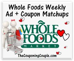 Whole Foods ad + coupon deals 2/14 - 2/20/18  Click the link below to get all of the details ► http://www.thecouponingcouple.com/coupon-matchups-for-whole-foods-2-14-18-to-2-20-18/ #Coupons #Couponing #CouponCommunity  Visit us at http://www.thecouponingcouple.com for more great posts!