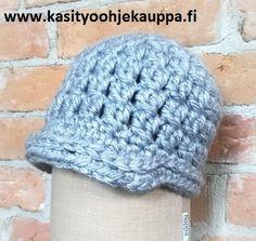 Hyrrä-virkattu hattu, KoppaPatterns