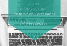 6 tips voor een betere werk-prive balans