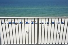 View from an eighth-floor balcony at Seawind in Gulf Shores. For more information, to view individual units, and to book online, visit http://www.beachguide.com/GulfShores/SeawindCondos.