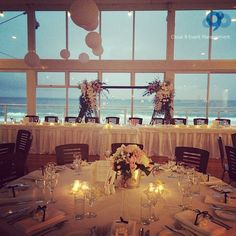 Formal Wedding Romantic Table Setting Waterfront Venue Northern Beaches Narrabeen For Help Planning Your