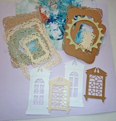 Spellbinders Die cut Paper Kit frames doors by LDphotography