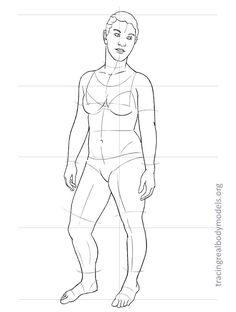 Real human fashion drawing models Figure Drawing Models, Human Figure Drawing, Figure Drawing Reference, Anatomy Reference, Fashion Figure Templates, Fashion Design Template, Design Templates, Anatomy Models, Real Bodies