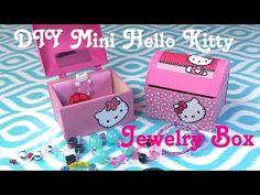 Coisas que Gosto: DIY Miniature Hello Kitty Doll Jewelry Box