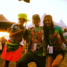 Another #LoveisAlive photo! Lia, Hunter and Ari at MASSV Music Festival! Thanks for the #love, Lia!