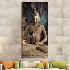 Celestial Buddha Canvas Wall Art by ElephantStock is printed using High-Quality materials for an elegant finish. We are the specialists in Modern Décor canvas prints and we offer 30 day Money Back Guarantee Canvas Wall Decor, Canvas Artwork, Wall Art Decor, Wall Art Prints, Canvas Prints, Buddha Canvas, Buddha Wall Art, Print Artist, Artist Canvas