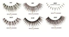 RED CHERRY 100% HUMAN HAIR EYELASHES JOB LOT BEST SELLING COLLECTION 6 PAIRS! RED CHERRY http://www.amazon.co.uk/dp/B00A4ZFKWO/ref=cm_sw_r_pi_dp_WViTub0W104F2
