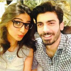 Fawad Afzal Khan and Sonam Selfie