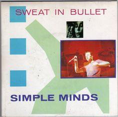 "Simple Minds - Sweat in a Bullet, 7"" double single, gatefold sleeve, c.1981 #vinyl"