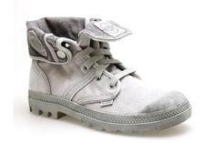 Baskets PALLADIUM BAGGY Gris - Chaussures femme