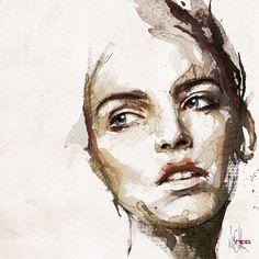 Pencil Portrait Mastery - Mode Portraits sur Behance - Oila par Florian Nicolle / Art numérique , Beaux-Arts , Illustration - Discover The Secrets Of Drawing Realistic Pencil Portraits