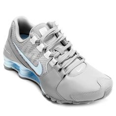 Tênis Nike Shox Avenue Se Azul e Branco | Netshoes