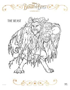With Beauty and the Beast opening TOMORROW (March 17th) at theaters EVERYWHERE, I thought it would be fun to share some Beauty and the Beast Coloring Sheets! My daughter has been begging me to find some for her, so here they are! Enjoy Belle, Beast, Lumiere, Cadenza, Garderobe, Plumette, Cogsworth, Gaston, Le Fou, Mrs. Potts…