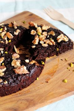 Rezept für Low Carb Brownies mit Zucchini und ohne Mehl