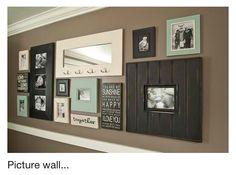 Picture Wall ; color scheme