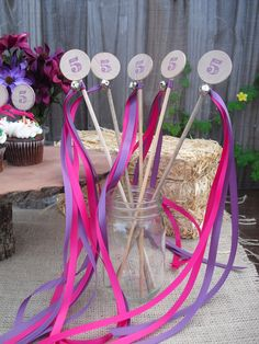 Princess Wands  SET OF 10 Princess Birthday #PampersPinParty