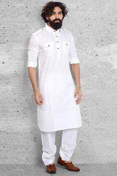 20% OFF on this White Casual Pathani Suit... #EIDSale2017 #Rajwadi #bestoffer #eid2017 #eidoutfits #eidmubarak
