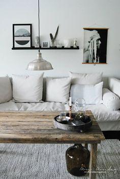 Stein, saks, papir: DIY: Lampe up-style