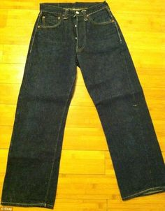 07017ccc How much are your vintage Levi's worth? Rare denim jeans from the Fifties  are selling for up to $8,000 on eBay