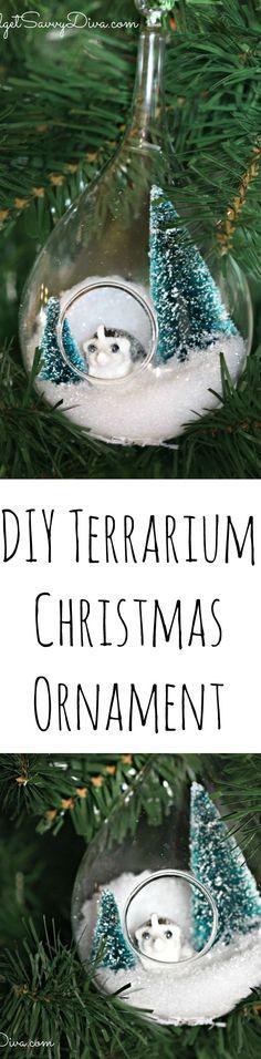How to Make a Terrarium Christmas Ornament