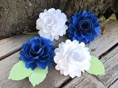 Ruffle Roses for Wedding DIY or decorations at events!